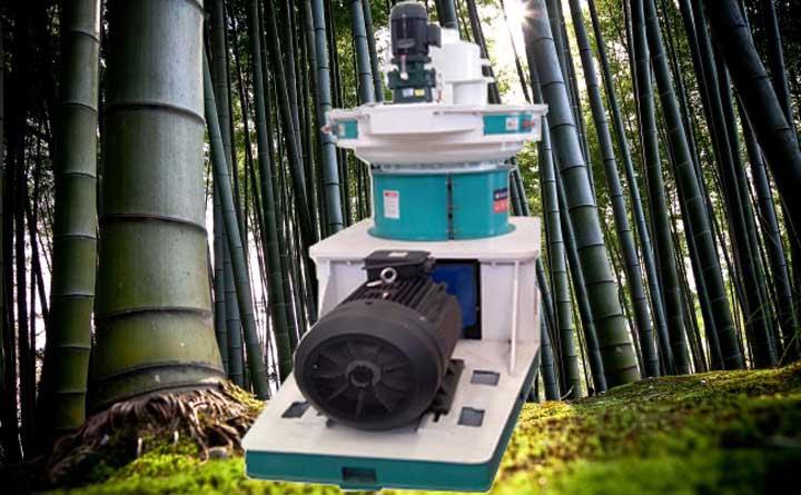 竹屑颗粒机