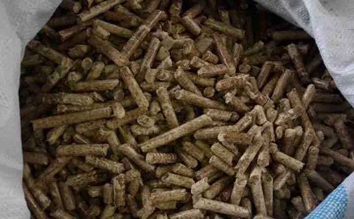 竹屑颗粒机产品