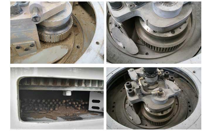 平模颗粒机压辊磨损后怎样修理