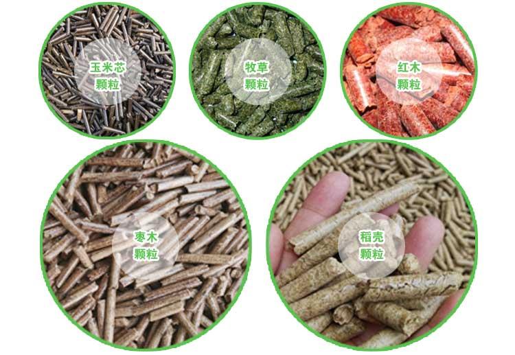 木屑颗粒机设备原料有哪些