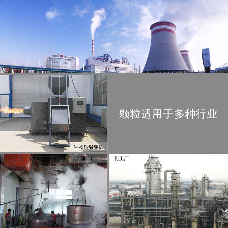 木屑颗粒燃料应用行业