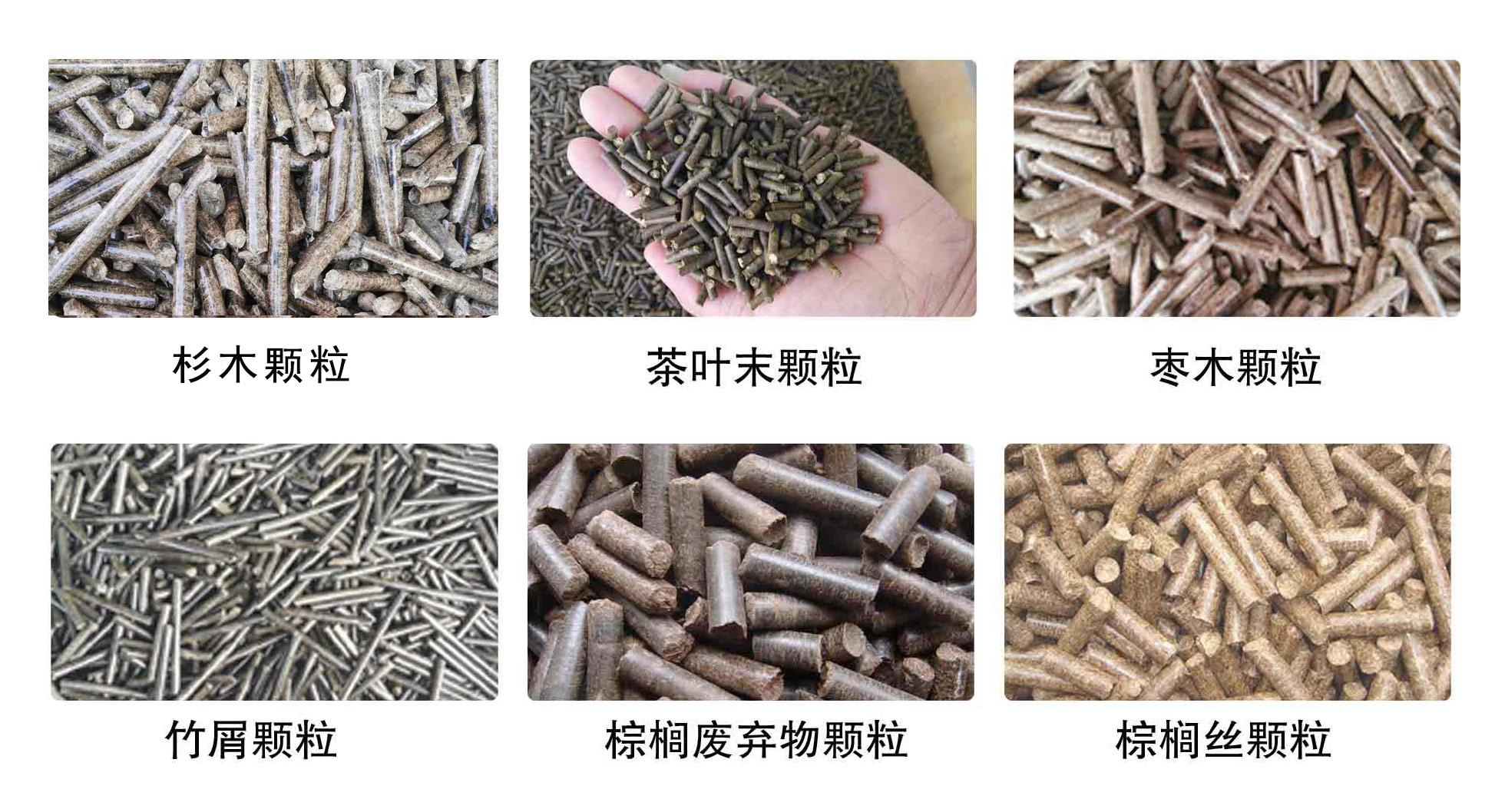 木屑颗粒机多少钱相关原料