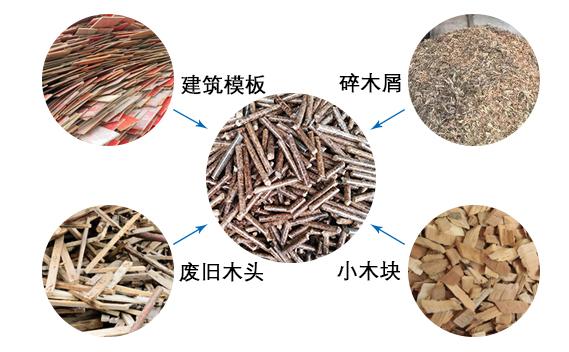 660木屑颗粒机适用原料